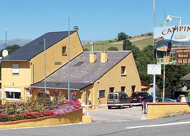 Camping Ilisa in Saillagouse is een bergcamping in de Languedoc-Roussillon op 9 kilometer van Spanje in een klein Catalaans dorpje in de Pyrénées-Orientales