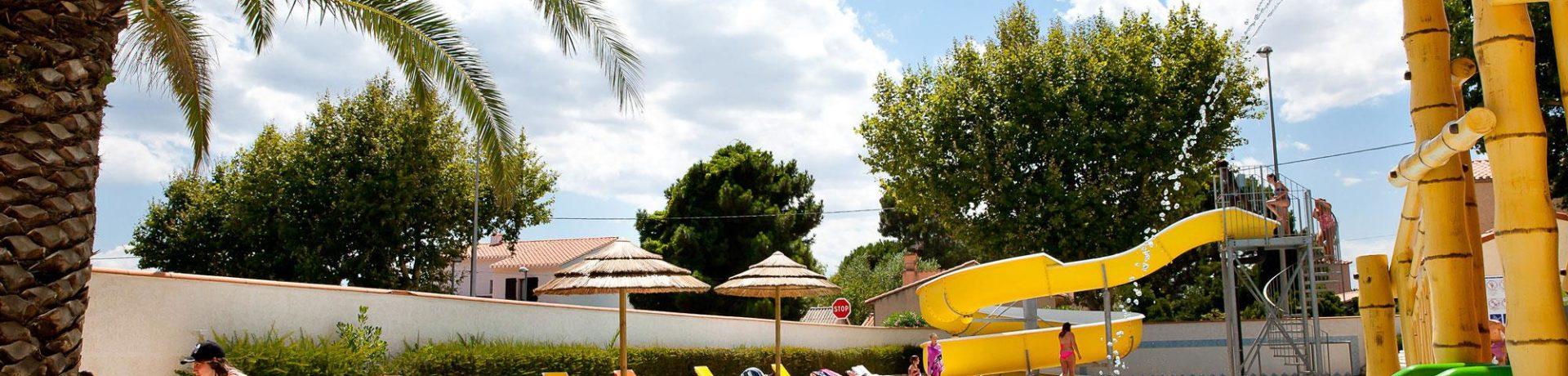 Camping La Pergola in Saintes-Marie-de-la-Mer is een kindvriendelijke camping aan de Middellandse zee met veel faciliteiten in de Pyrénées-Orientales.