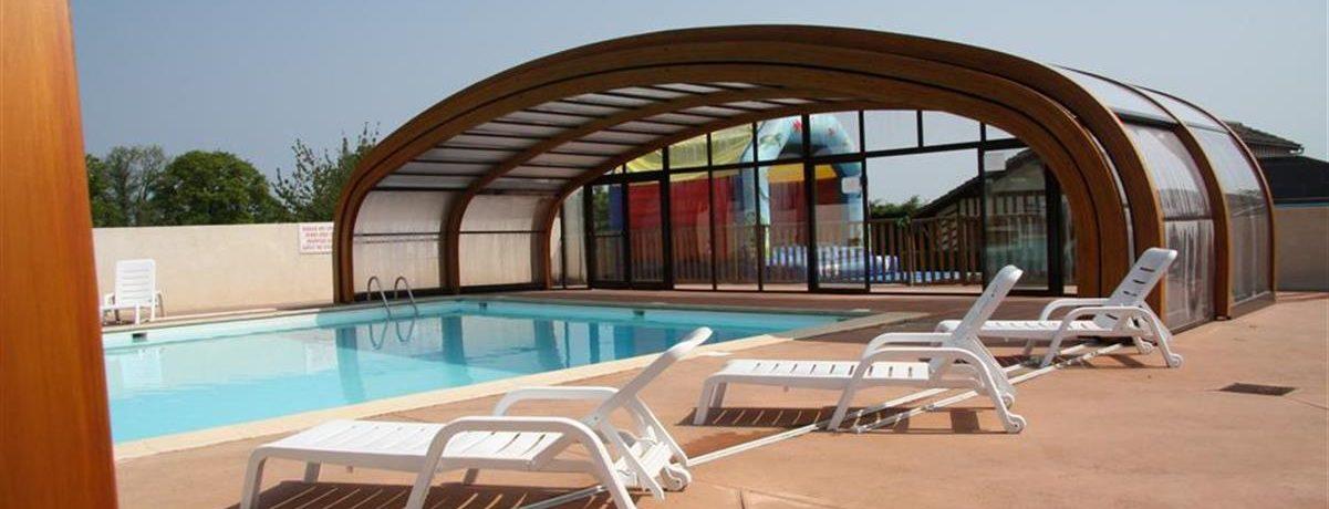 Camping Bellevue is een familiecamping met zwembad in Normandië op 1,5 kilometer van de stranden van de leuke badplaats Villers-sur-Mer in de Calvados.