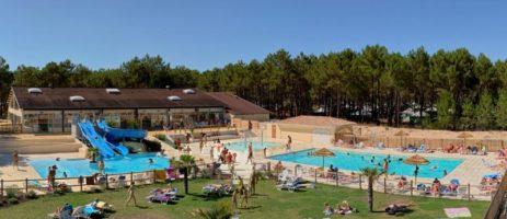 Euronat is een overcompleet naturistendorp met zwemparadijs, Thalasso en winkelcentrum aan een privéstrand aan de Atlantische kust tussen de Baai van Arcachon en Bordeaux in de Gironde.
