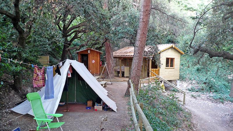 Camping à la Ferme Brès is een mini boerderijcamping met een olijfgaard op het platteland op 2 km van Nyons in de prachtige Drôme (Rhône-Alpes).