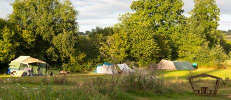 Camping Le Petit Mas d'Ile is een kleine natuurcamping met zwembad bij een boerderij in een groene en rustige omgeving van de Charente met uitzicht!