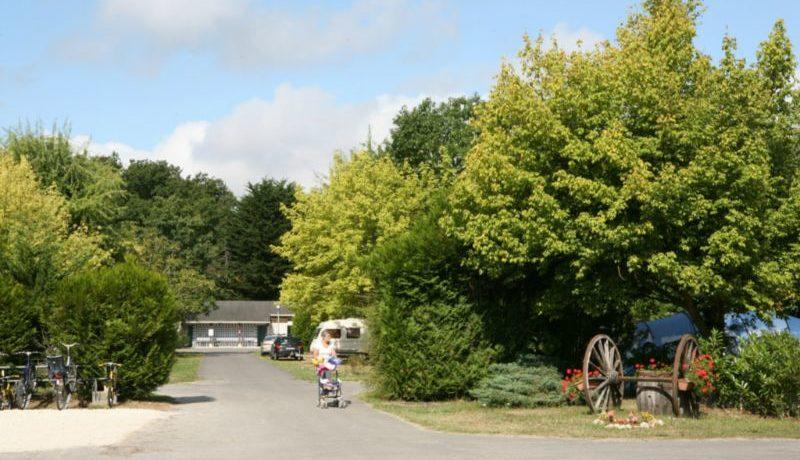 Camping la Mignardière in Ballan-Miré is een bloemrijke gezinscamping met zwembad ten zuidwesten van Tours in de Indre-et-Loire in regio Centre.