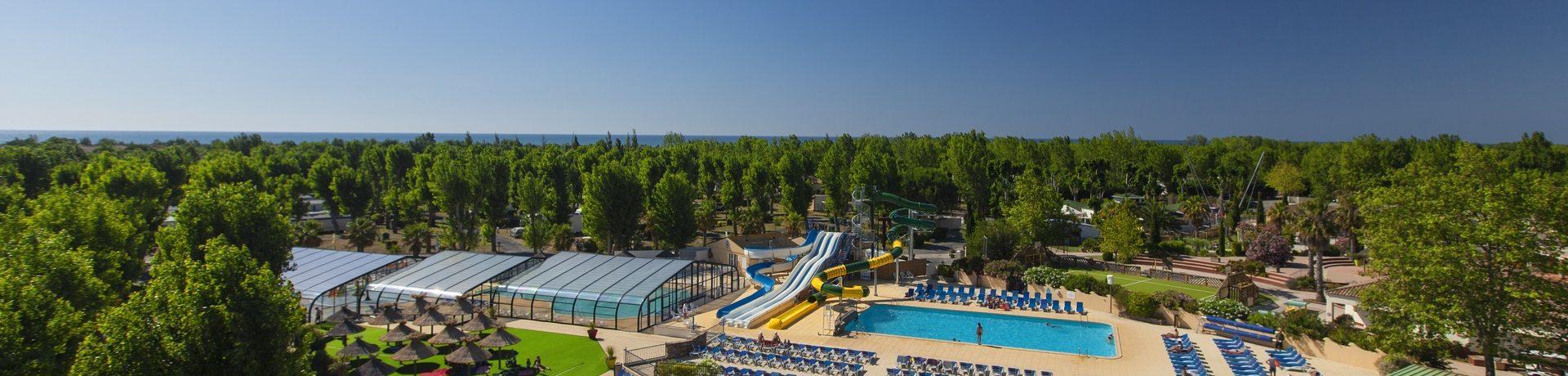 Domaine La Yole Wine Resort is een fantastische familiecamping gelegen in Languedoc-Roussillon. Geniet van de omgeving, de activiteiten en de prachtige natuur in deze regio.