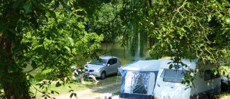 Camping de l'Ill - Colmar in Horbourg-Wihr ligt op 2 km van het centrum van Colmar (gemakkelijk te bereiken via de fietspaden) in de Elzas.