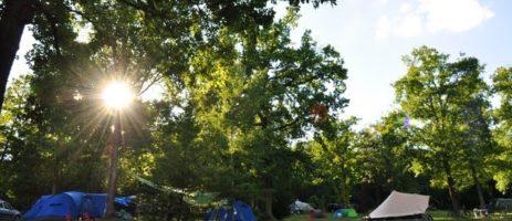 Sites & Paysages Camping Au Bois Joli is een (h)eerlijke charmecamping in het hart van de Bourgogne gelegen.