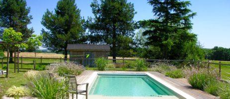 Camping La Vie en Rose in Escanecrabe is een kleine, charme camping inclusief ontbijt en de luxe van een boetiekhotel in de Haute-Garonne in Midi-Pyrénées.
