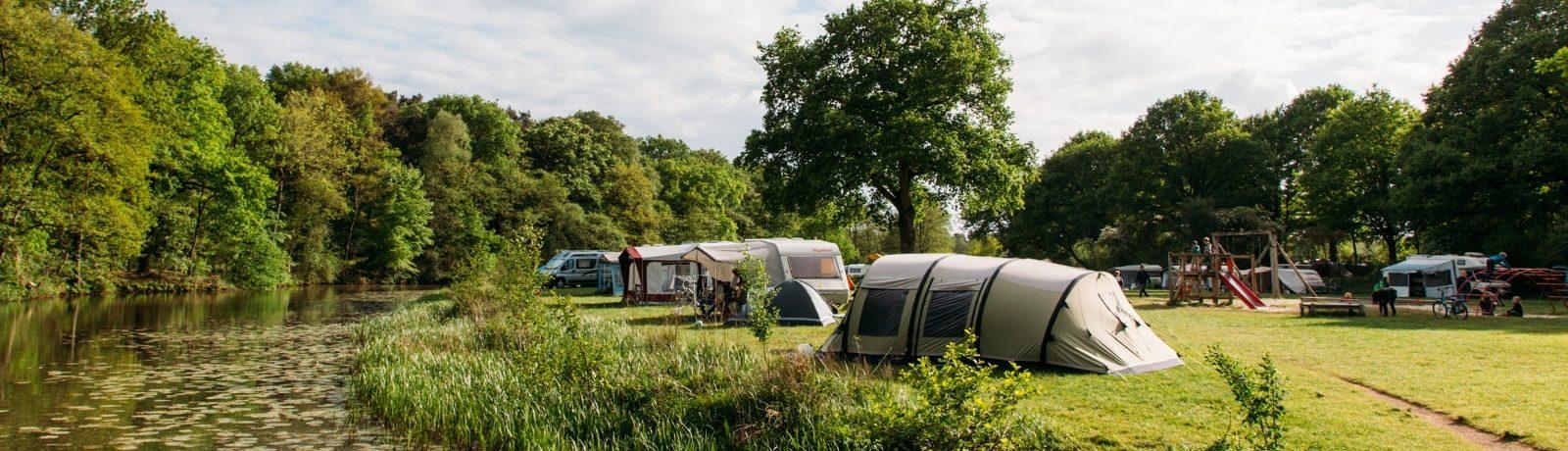 Prachtige ruim opgezette camping in Overijssel in het hart van het unieke heuvellandschap aan de Overijsselse Vecht, kamperen in een harmonieuze sfeer!