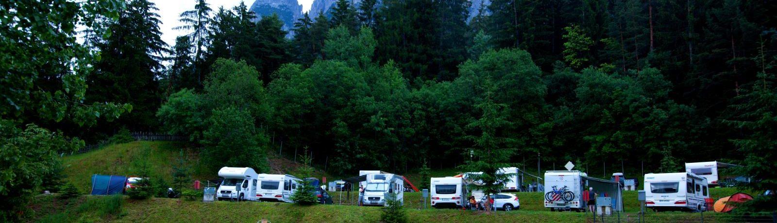 Camping Seiser Alm in Zuid-Tirol is een charme camping in met zwembad in de Dolomieten in de regio Trentino-Zuid Tirol.