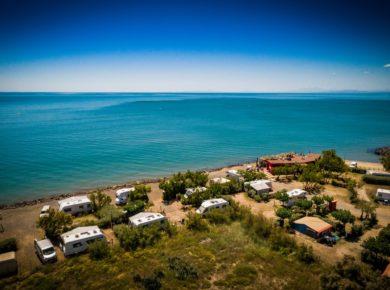 Camping Club Californie plage à Vias, près de Béziers ( Hérault - Occitanie )