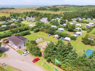 Guldager Camping in Saltum is een prachtige familiecamping aan zee gelegen in het mooie vakantieland Denemarken.