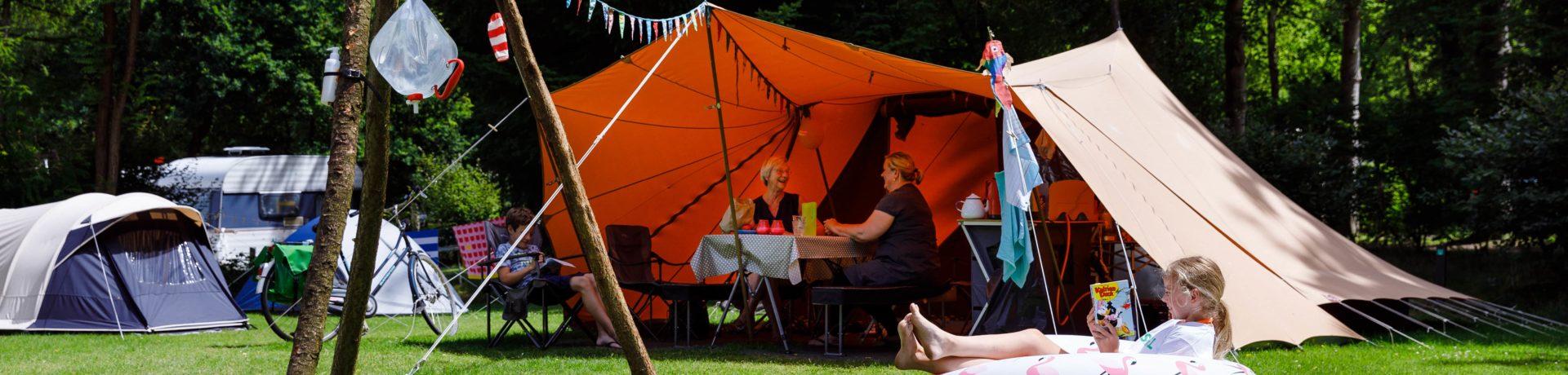 Gunstig gelegen groene en kindvriendelijke camping met verwarmd zwembad in bosrijke omgeving op de Utrechtse Heuvelrug. Op het park was voor onze kinderen veel te doen.