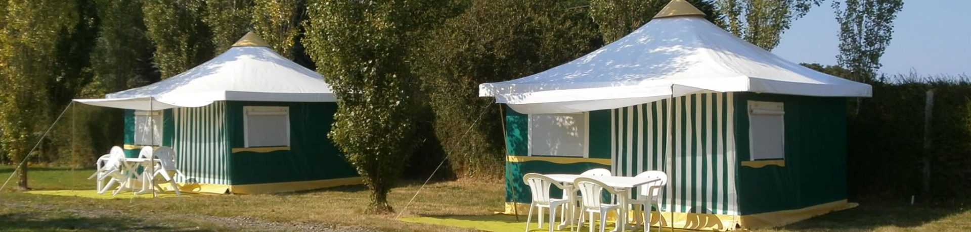 Camping Les Mouettes is een fijne kleine aan zee in Plérin-sur-Mer in de regio Bretagne met 26 toerplaatsen en 9 huuraccommodaties.