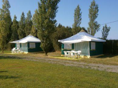 Camping les Mouettes in Plérin-sur-Mer is een kleine camping aan zee in de Côtes-d'Armor in Bretagne.