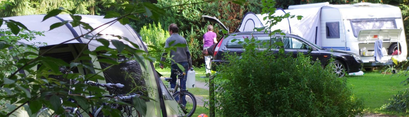 Aux Sources De Lescheret is een fijne kleine natuurcamping op het platteland in Vaux-sur-Sûre in de regio Wallonië met 44 toerplaatsen en 5 huuraccommodaties.