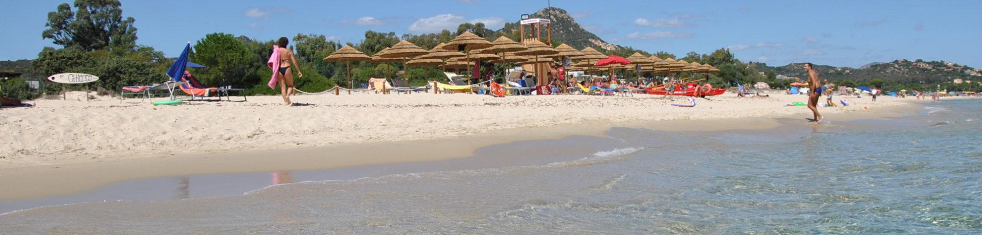 Villagio Camping Capo Ferrato in Muravera op Sardinië is een charmecamping in Italië aan zee met uitzicht op de kust van Costa Rei.
