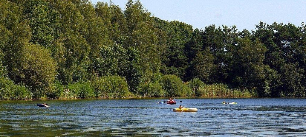 Klein-Frankrijk in Leenderstrijp ist ein Charme Camping in Nordbrabant am Wald.