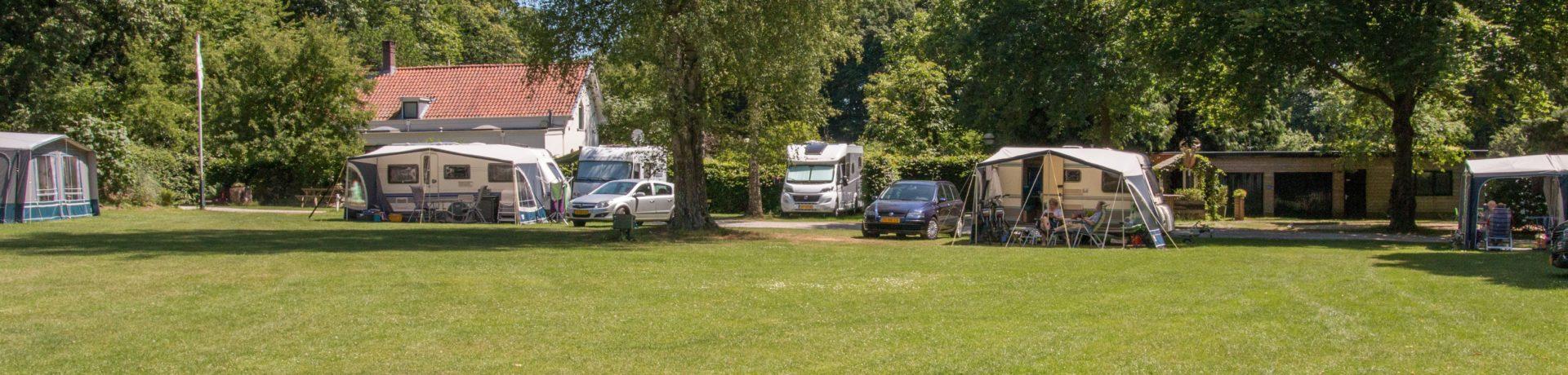 Sfeervolle ANWB charme camping in Gelderland gelegen op één van de mooiste landgoederen van de stichting