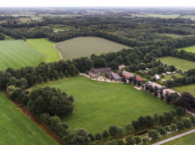 Landgoed Barendonk vanuit de lucht