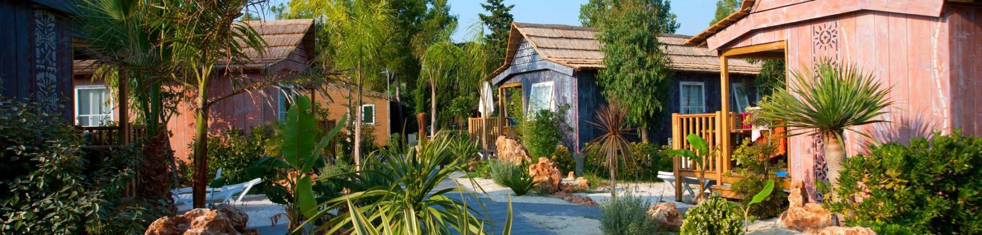 Beleef een droomvakantie op deze 5 sterren camping met een mooi waterpark en waterspeeltuin voor de kinderen vlakbij Perpignan, direct aan de Middellandse Zee.