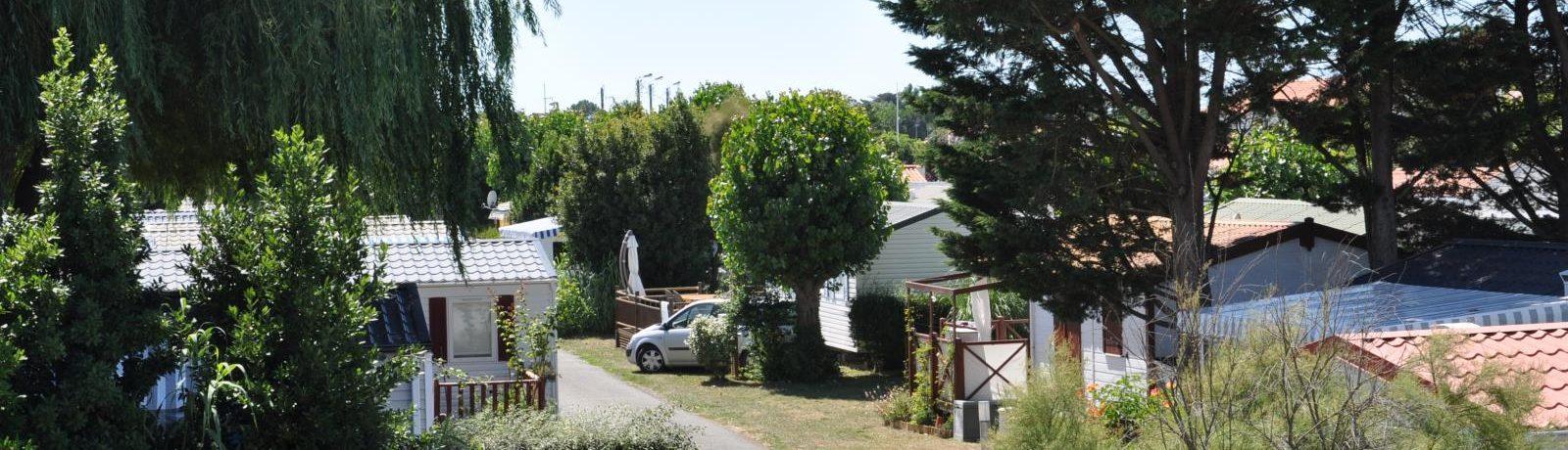 Camping Fautais is een gezellige kleine camping in het dorpscentrum van La Faute-sur-Mer in het departement Vendée in de Pays-de-la-Loire.