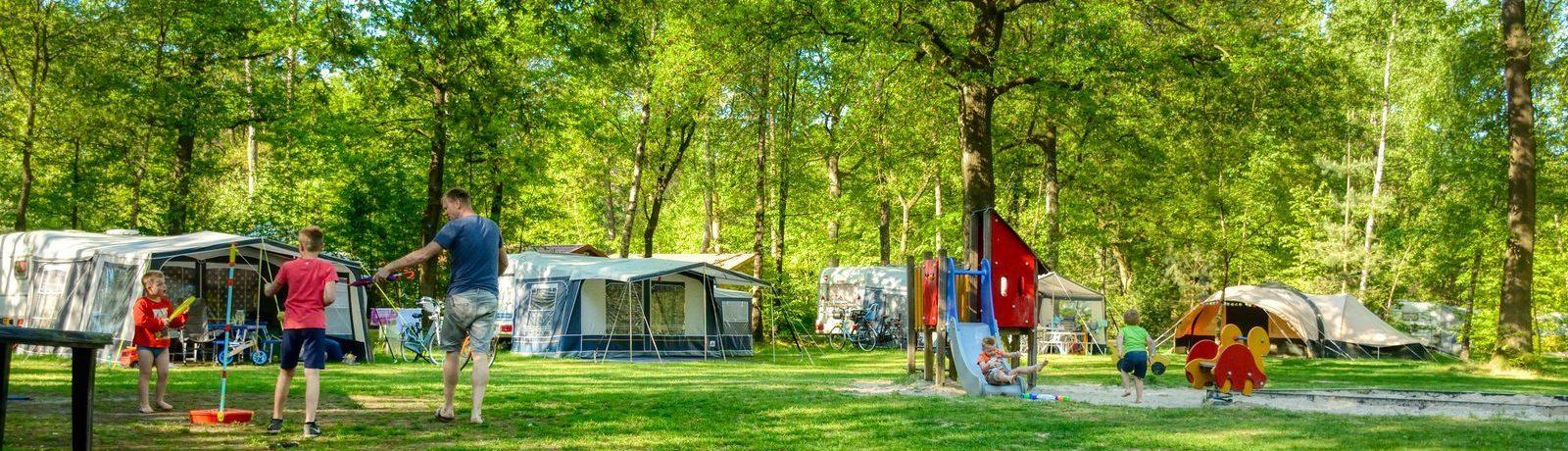 Landgoed De Berenkuil in Grolloo is een groene camping met zwembad en speelvijver middenin het natuurlijke hart van de provincie Drenthe.