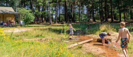 Nederland, Noord-Brabant, RCN vakantiepark of camping De Flaasbloem